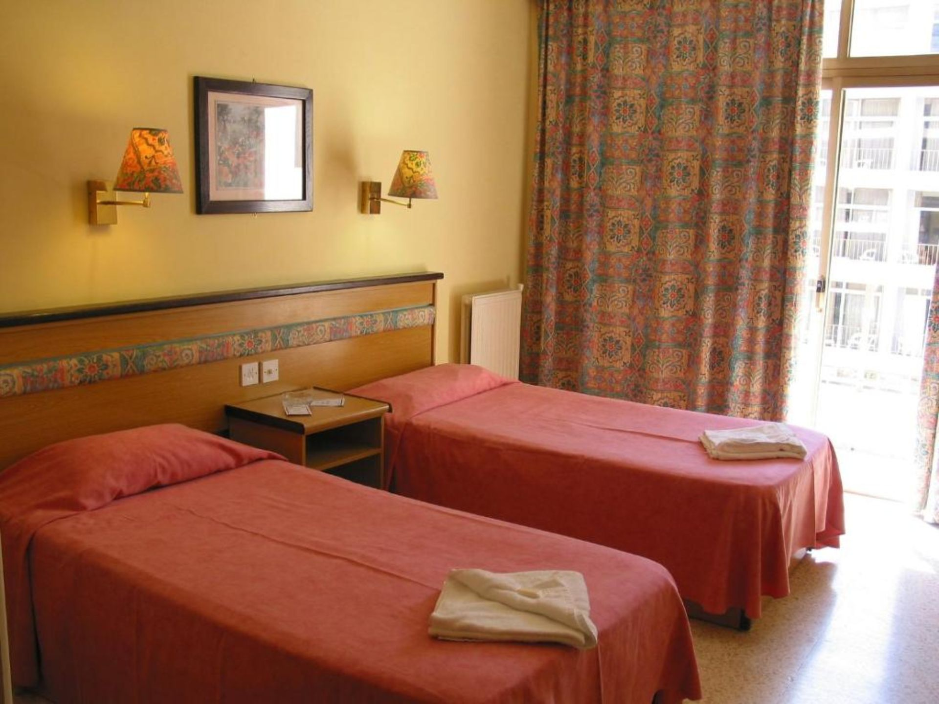 Double or Twin Room (one child free up to 12 years)