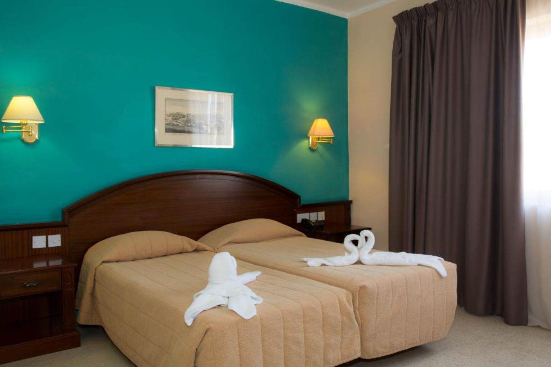 Comfort Twin Room (a child up to 12 years free)