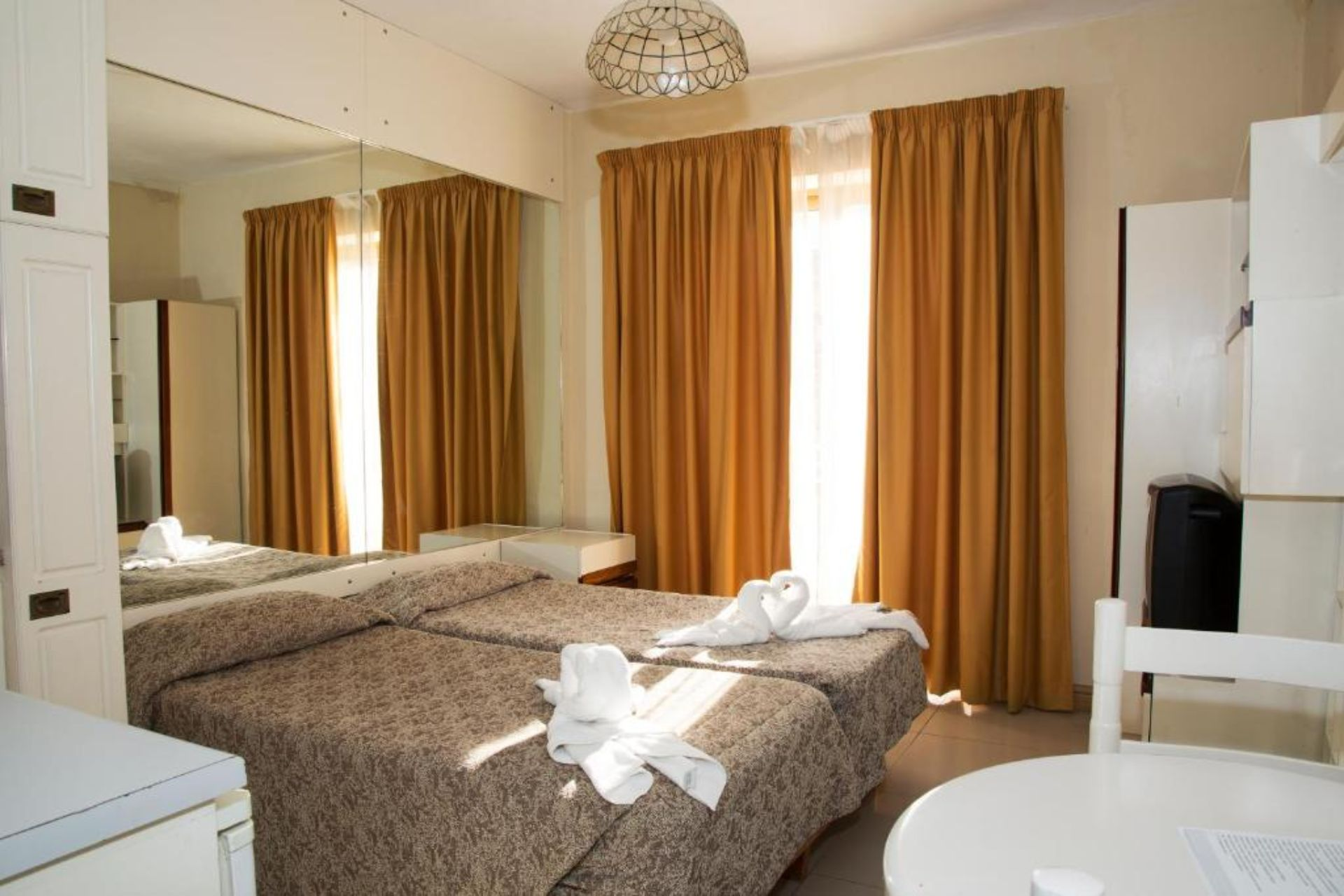 Twin Room with Balcony (a child up to 12 years free)