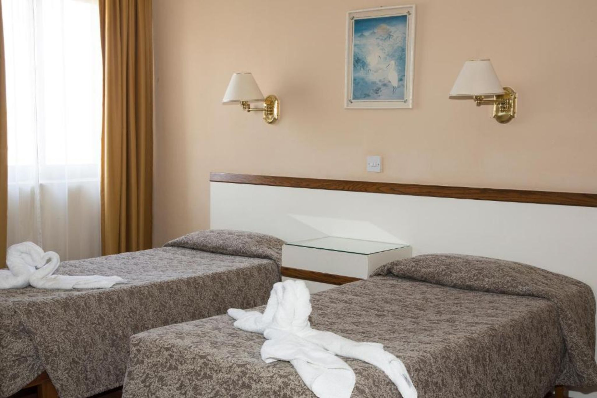 Twin Room with Balcony and Pool View (a child up to 12 years free)